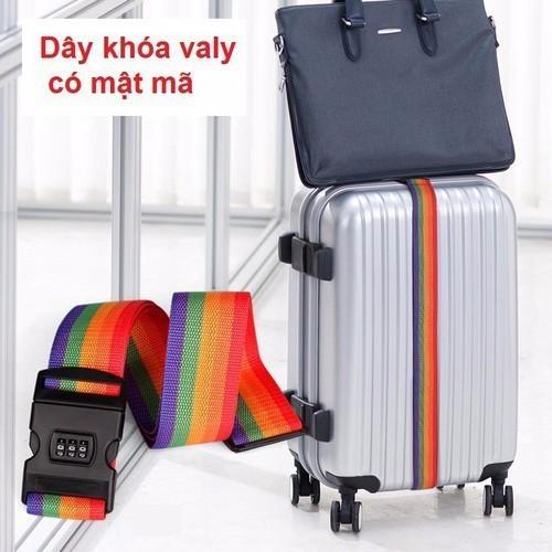 Dây khóa valy có mật mã