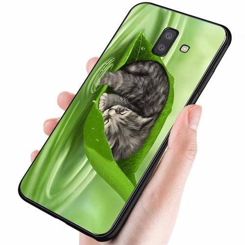 Ốp điện thoại dành cho máy samsung galaxy a6 2018 - dễ thương muốn xỉu ms cute015