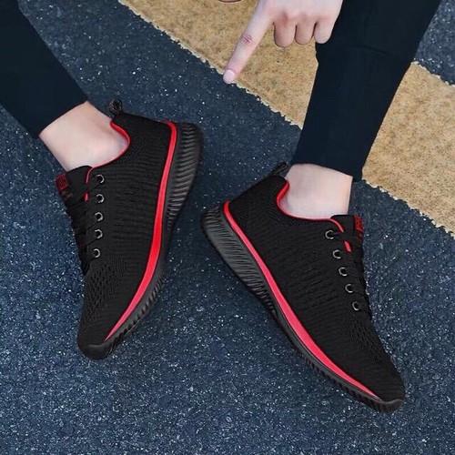 Giày thể thao nam, giày sneaker, thể thao nam có 2 màu đen đỏ, ghi  size 39-43 - 12822971 , 20755090 , 15_20755090 , 440000 , Giay-the-thao-nam-giay-sneaker-the-thao-nam-co-2-mau-den-do-ghi-size-39-43-15_20755090 , sendo.vn , Giày thể thao nam, giày sneaker, thể thao nam có 2 màu đen đỏ, ghi  size 39-43