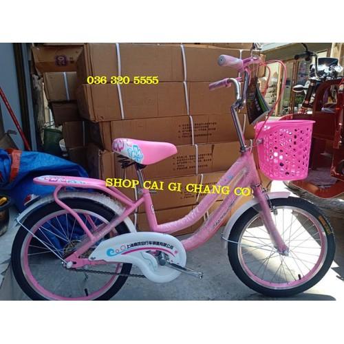 Xe đạp mini cho bé gái từ 6 tuổi đến 10 tuổi size 20inch hàng đẹp