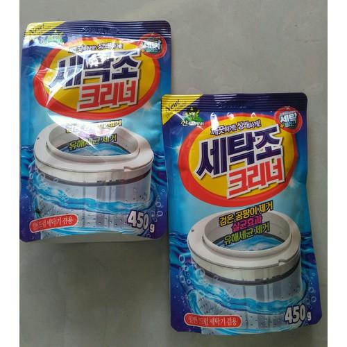 2 gói bột tẩy vệ sinh lồng máy giặt hàn quốc - 12822136 , 20754198 , 15_20754198 , 99000 , 2-goi-bot-tay-ve-sinh-long-may-giat-han-quoc-15_20754198 , sendo.vn , 2 gói bột tẩy vệ sinh lồng máy giặt hàn quốc