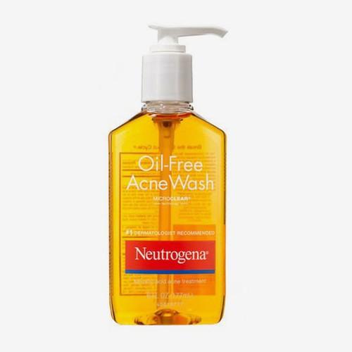 Rửa mặt trị mụn neutrogena oil  free acne wash 9.1oz