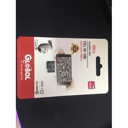 Thẻ nhớ micro sd 32gb global chính hãng