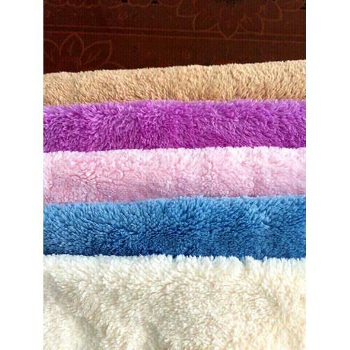 Bộ 8 khăn lông cừu mềm mịn cho bé và người cao tuổi kt 30x50cm