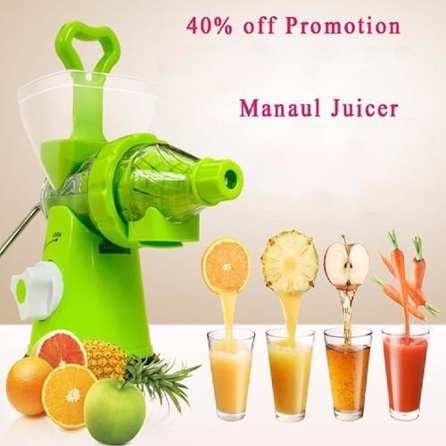 Máy xay ép trái cây bằng tay manual juicer - may xay hoa quả - máy ép đa năng