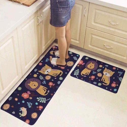 Set thảm bếp đôi