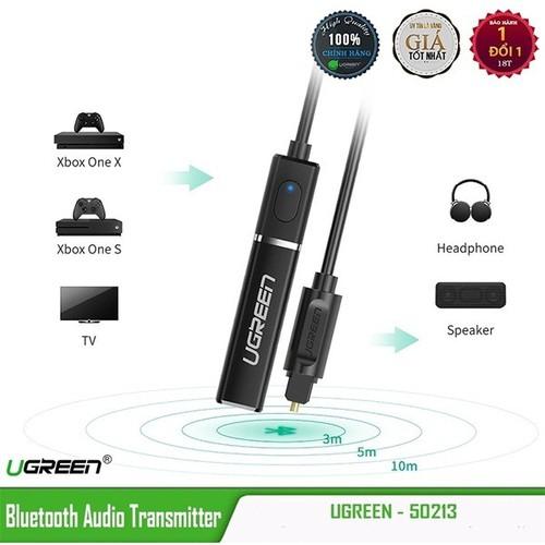 Bộ phát bluetooth 4.2 hỗ trợ aptx chính hãng ugreen 50213 chuẩn quang