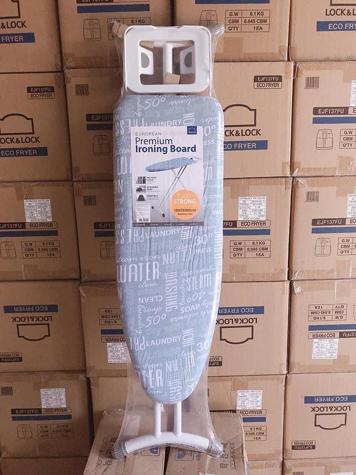 Bàn để ủi quần áo khung bằng thép Lock&Lock F00141 - bdu