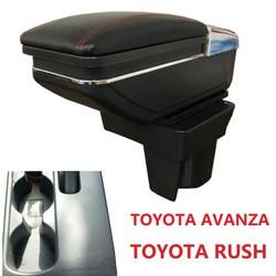Hộp tỳ tay ô tô Toyota Rush và Toyota Avanza: Mã JDZX-RUSH