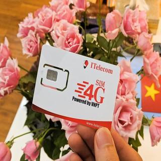 Sim 4G Vina Tặng DATA 90GB 1 Tháng + Gọi Miễn Phí Vina - itelecom may v77 thumbnail