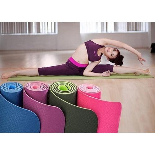 Thảm yoga 2 lớp kèm túi xách