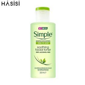 Nước Hoa Hồng Simple Dành Cho Da Nhạy Cảm 200ml Kind to Skin Soothing Facial Toner - 2500291