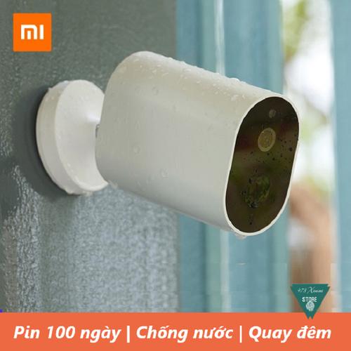 [Chính hãng] camera ip ngoài trời xiaomi outdoor battery edition -camera giám sát tích điện xiaomi 1080p