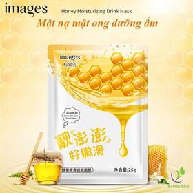 Combo 10 Mặt nạ giấy dưỡng ẩm chống lão hóa Images chiết xuất mật ong mặt nạ nội địa Trung KR-MA63 - KR-MA63