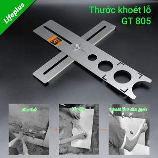 Thước cân lỗ lắp cắt gạch inox - 24000805 thumbnail