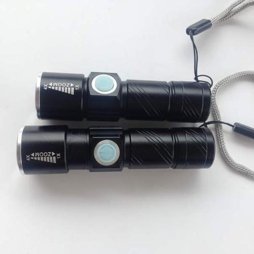 Đèn pin mini siêu sáng nhỏ gọn tiện lợi