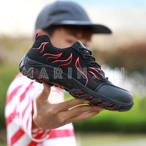 Giày bảo hộ lao động dáng thể thao jb901 màu đen viền đỏ - 12829032 , 20763178 , 15_20763178 , 650000 , Giay-bao-ho-lao-dong-dang-the-thao-jb901-mau-den-vien-do-15_20763178 , sendo.vn , Giày bảo hộ lao động dáng thể thao jb901 màu đen viền đỏ