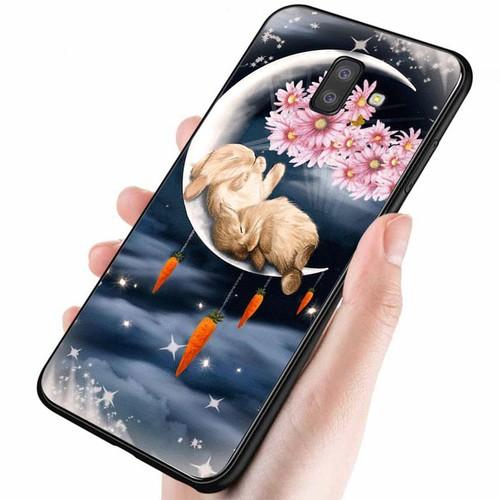 Ốp điện thoại samsung galaxy a6 plus - dễ thương muốn xỉu ms cute017