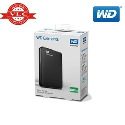 Ổ Cứng Di Động WD Elements 500GB 2.5 USB 3.0 - Hàng Chính Hãng