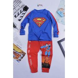 Quần áo dài tay siêu nhân bé từ 12kg đến 45kg