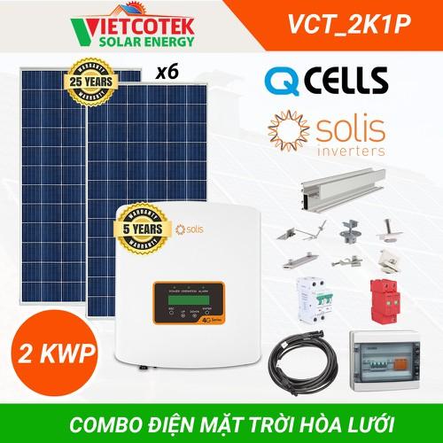Hệ thống điện mặt trời hòa lưới 2kwp - 12828605 , 20762714 , 15_20762714 , 44000000 , He-thong-dien-mat-troi-hoa-luoi-2kwp-15_20762714 , sendo.vn , Hệ thống điện mặt trời hòa lưới 2kwp