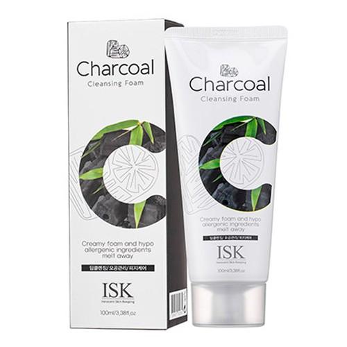 Sữa rửa mặt than hoạt tính loại bỏ bã nhờn ISK Charcoal Cleansing Foam Hàn Quốc 100ml - 11371900 , 20760475 , 15_20760475 , 99000 , Sua-rua-mat-than-hoat-tinh-loai-bo-ba-nhon-ISK-Charcoal-Cleansing-Foam-Han-Quoc-100ml-15_20760475 , sendo.vn , Sữa rửa mặt than hoạt tính loại bỏ bã nhờn ISK Charcoal Cleansing Foam Hàn Quốc 100ml