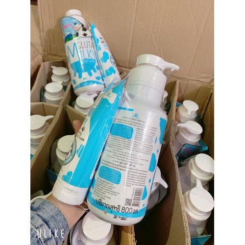 Sữa tắm con bò gluta milky thái lan 800ml tặng sữa rửa mặt - 12825206 , 20757495 , 15_20757495 , 110000 , Sua-tam-con-bo-gluta-milky-thai-lan-800ml-tang-sua-rua-mat-15_20757495 , sendo.vn , Sữa tắm con bò gluta milky thái lan 800ml tặng sữa rửa mặt