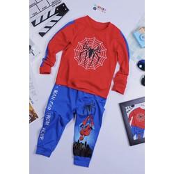 Quần áo dài tay Người nhện bé từ 12kg đến 45kg