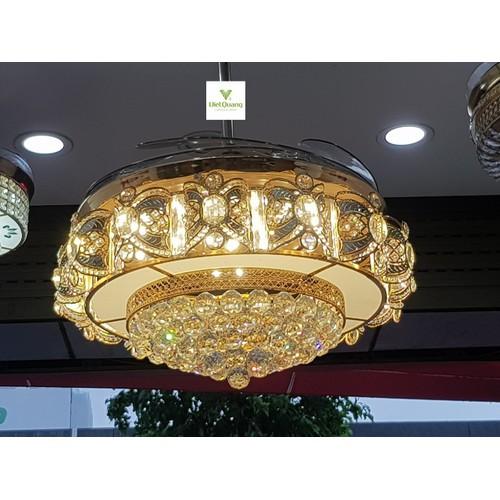 Quạt trần đèn chùm pha lê cao cấp 9009i - quạt trần trang trí - 12822089 , 20754146 , 15_20754146 , 4880000 , Quat-tran-den-chum-pha-le-cao-cap-9009i-quat-tran-trang-tri-15_20754146 , sendo.vn , Quạt trần đèn chùm pha lê cao cấp 9009i - quạt trần trang trí
