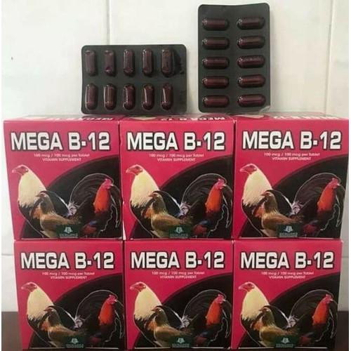 Mega b12 tăng nước máu cho gà tre gà nòi 1 vỉ