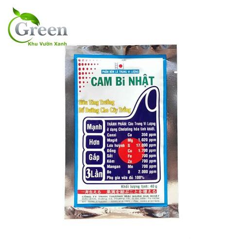 Phân bón lá trung vi lượng cam bi nhật siêu tăng trưởng bổ dưỡng cho cây trồng gói 40g - 12821747 , 20752904 , 15_20752904 , 19000 , Phan-bon-la-trung-vi-luong-cam-bi-nhat-sieu-tang-truong-bo-duong-cho-cay-trong-goi-40g-15_20752904 , sendo.vn , Phân bón lá trung vi lượng cam bi nhật siêu tăng trưởng bổ dưỡng cho cây trồng gói 40g