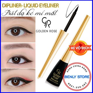 Bút dạ kẻ mí mắt- Dipliner Liquid Eyeliner - Chính Hãng Golden Rose thumbnail
