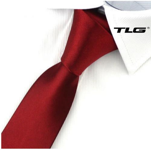 Cà vạt nam bản nhỏ hq206252 4   đỏ