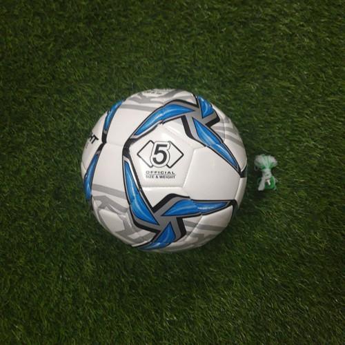 Quả bóng đá số 5 mẫu asian cup  tặng bộ kim túi 2 đôi tất dài đá bóng