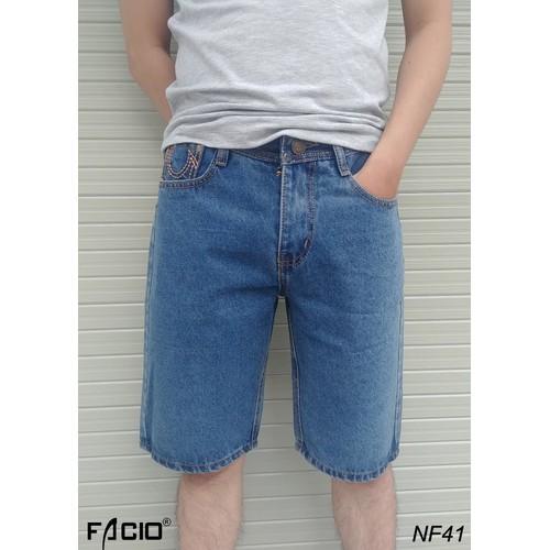 Quần short jeans nam, quần ngắn nam facioshop nf41, nc41, np41