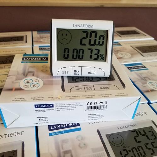 Nhiệt ẩm kế điện tử có giờ lanaform - 12836982 , 20773214 , 15_20773214 , 430000 , Nhiet-am-ke-dien-tu-co-gio-lanaform-15_20773214 , sendo.vn , Nhiệt ẩm kế điện tử có giờ lanaform