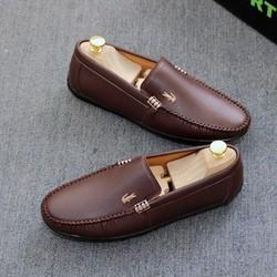 Giày lười nam, giày da nam cá sấu cao cấp[Kiểm hàng ưng ý thanh toán]