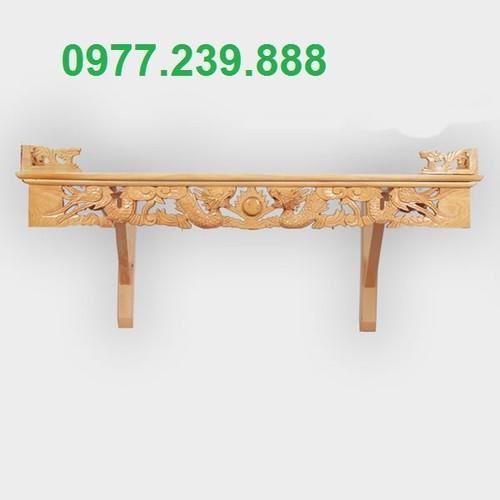 Bàn thờ rồng gỗ pơ 61cm
