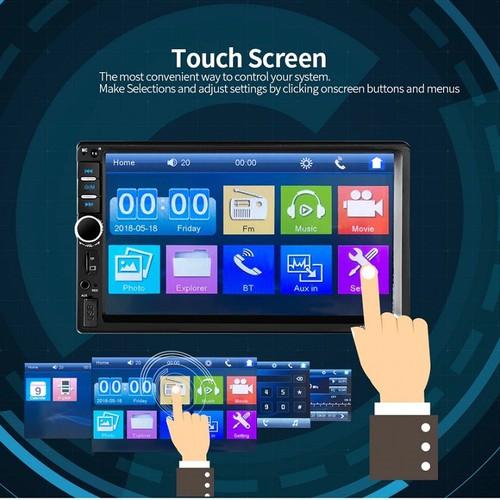 Màn Hình LCD 7 inch Phát Nhạc MP5 Cảm Ứng Bluetooth 7018B Tặng Kèm Camera Lùi Cao Cấp - 11372395 , 20781286 , 15_20781286 , 840000 , Man-Hinh-LCD-7-inch-Phat-Nhac-MP5-Cam-Ung-Bluetooth-7018B-Tang-Kem-Camera-Lui-Cao-Cap-15_20781286 , sendo.vn , Màn Hình LCD 7 inch Phát Nhạc MP5 Cảm Ứng Bluetooth 7018B Tặng Kèm Camera Lùi Cao Cấp