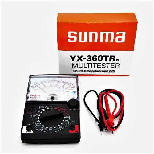 Đồng hồ đo vạn năng samwa yx360trn có tặng kèm pin