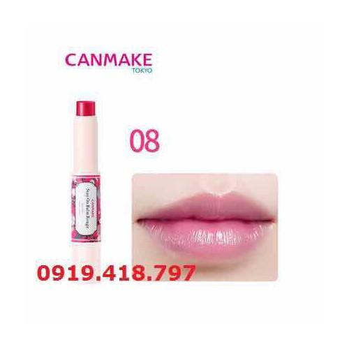 Canmake-Japan_Son dưỡng môi có màu số 8 Stay On Balm Rouge - 11372575 , 20781479 , 15_20781479 , 180000 , Canmake-Japan_Son-duong-moi-co-mau-so-8-Stay-On-Balm-Rouge-15_20781479 , sendo.vn , Canmake-Japan_Son dưỡng môi có màu số 8 Stay On Balm Rouge