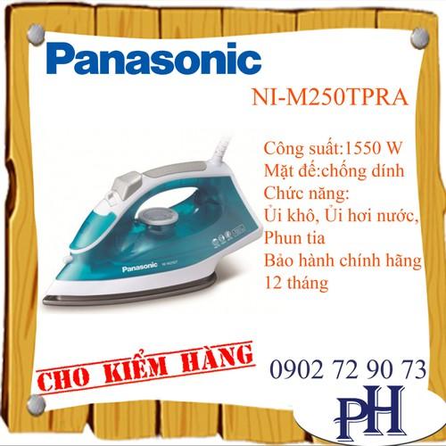 Bàn ủi hơi nước panasonic ni-m250tpra - 12846526 , 20786836 , 15_20786836 , 529000 , Ban-ui-hoi-nuoc-panasonic-ni-m250tpra-15_20786836 , sendo.vn , Bàn ủi hơi nước panasonic ni-m250tpra