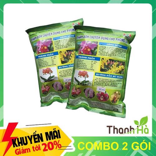 Combo 2 gói - phân bón dinh dưỡng cho lan realstrong 5.5.5 hiệu quả cao