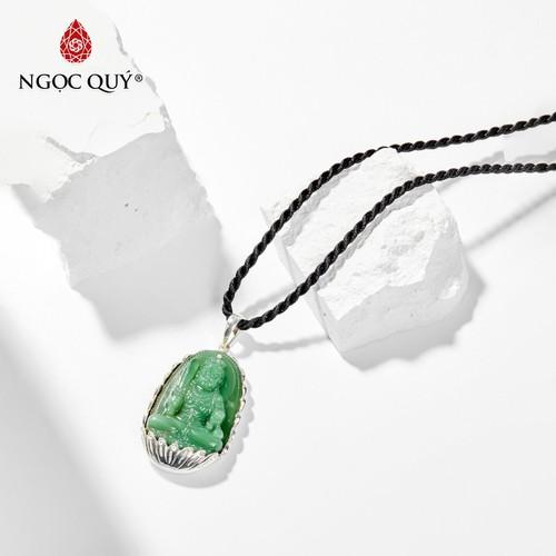Mặt dây chuyền đá ngọc tủy xanh bất động minh vương tuổi dậu 4*2.5cm mệnh mộc hỏa - ngọc quý gemstones - 20214532 , 20781522 , 15_20781522 , 1000000 , Mat-day-chuyen-da-ngoc-tuy-xanh-bat-dong-minh-vuong-tuoi-dau-42.5cm-menh-moc-hoa-ngoc-quy-gemstones-15_20781522 , sendo.vn , Mặt dây chuyền đá ngọc tủy xanh bất động minh vương tuổi dậu 4*2.5cm mệnh mộc