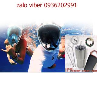 Kính lặn, kính bơi cao cấp tặng 1 ly giữ nhiệt nóng lạnh 2 chiều - kính lặn cao cấp thumbnail