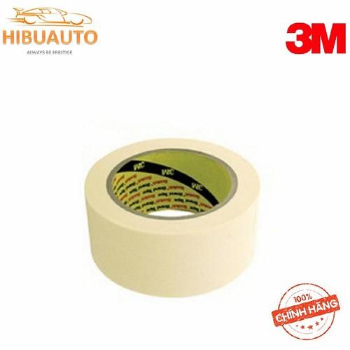 Băng keo giấy  masking tape 2600 trắng  48mm x 30m