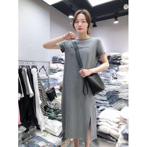 Đầm ngắn tay nữ giản dị dành cho nữ đẹp giá rẻ