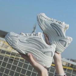 [ MUA 1 TẶNG 1 ] Giày sneaker nữ đế thô siêu chất TẶNG Dép kẹp Thái siêu cấp