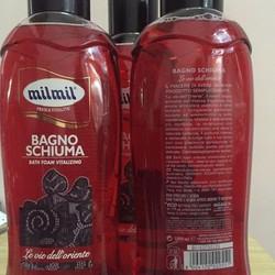 Sữa tắm dưỡng ẩm cho da Milmil Oriental Italy 1000ml