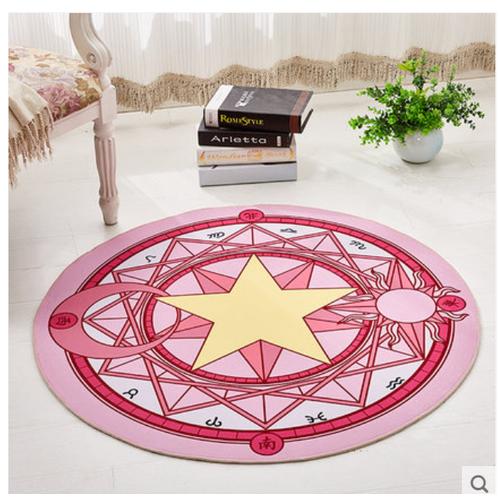 Thảm tròn trang trí phòng khách in hình ngôi sao - 12844533 , 20784412 , 15_20784412 , 800000 , Tham-tron-trang-tri-phong-khach-in-hinh-ngoi-sao-15_20784412 , sendo.vn , Thảm tròn trang trí phòng khách in hình ngôi sao
